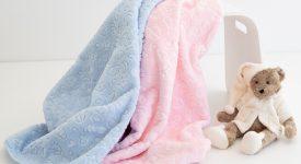 Babydecken Ein Gefühl von Wärme